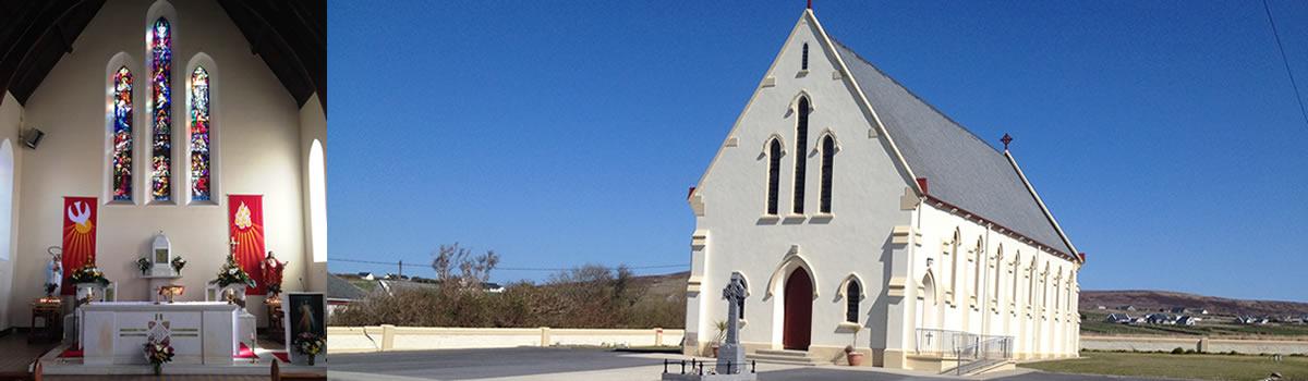 st patricks church, inver